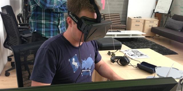 Projectleider Valve's virtual reality-bril naar Oculus