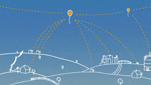 Google wil volgend jaar eerste internetballonnen activeren