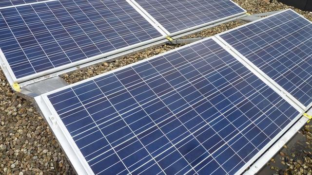 Groei van vermogen zonne-energie