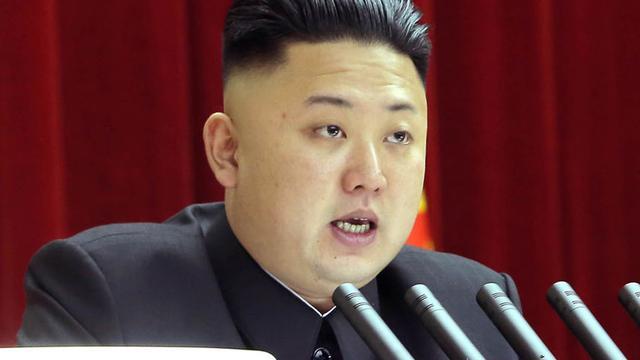 Noord-Korea pal achter Kim Jong Un