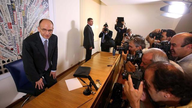 Wankelende Letta wil vertrouwen parlement