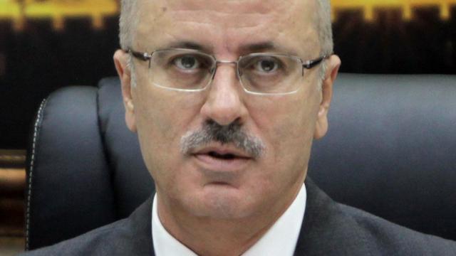 Explosie bij konvooi Palestijnse minister president