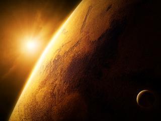Kraters gevonden in noordelijke hooglanden van Rode Planeet