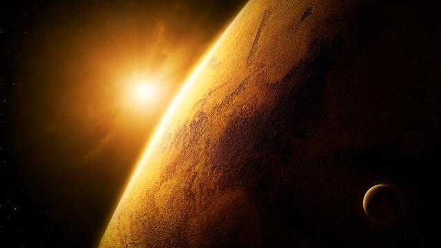 Mars was eerder zuurstofrijk dan aarde