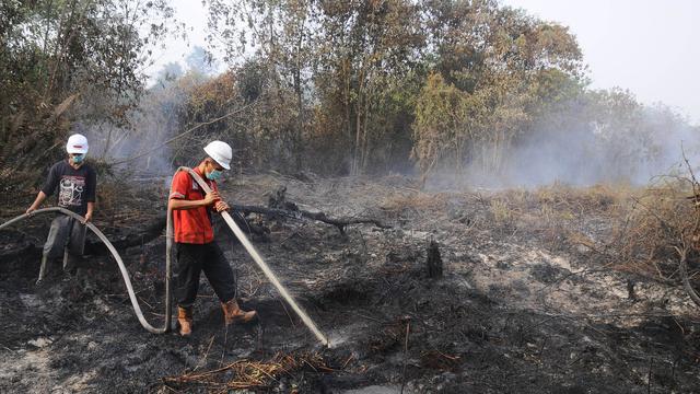 Duizenden luchtweginfecties Sumatra door rook