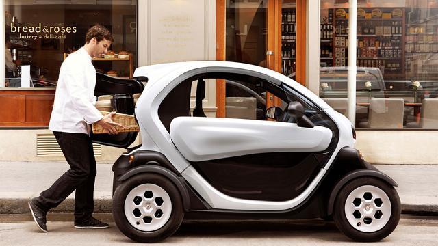 Renault Twizy als Cargo