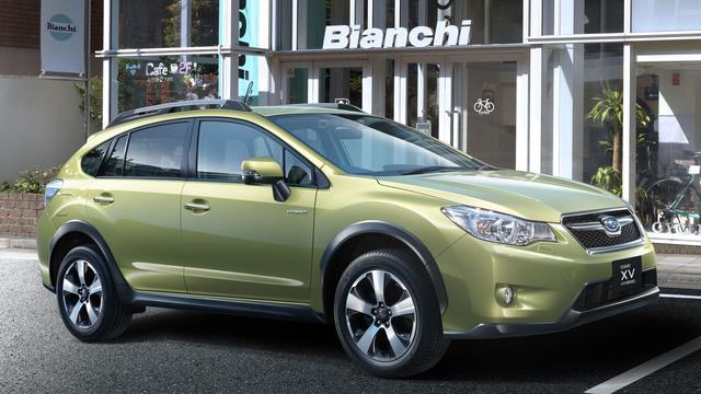 Subaru presenteert eerste hybride