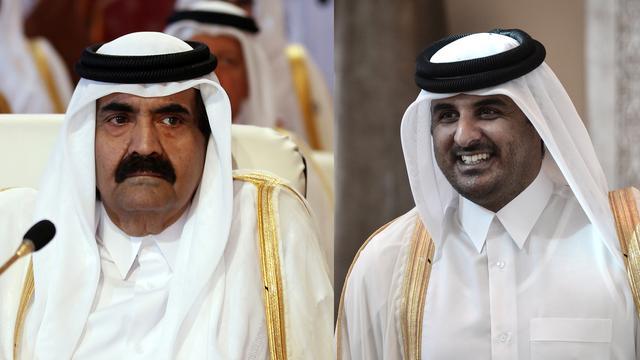 Emir Qatar draagt macht over aan 'nieuwe generatie'