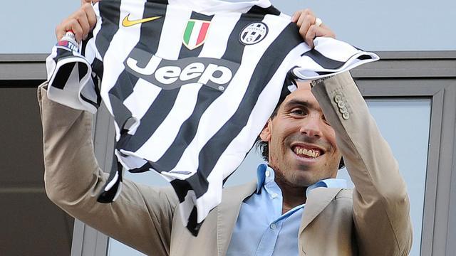 Juventus neemt Tevez over van Manchester City
