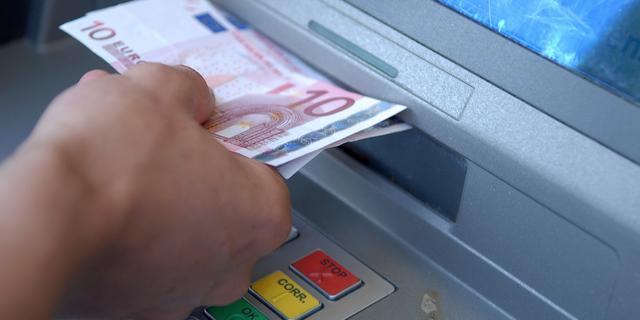 Pinautomaten Rabobank en ABN Amro zaterdag niet bijgevuld