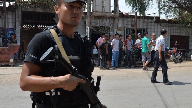 Acht doden bij aanval politiebureau Xinjiang