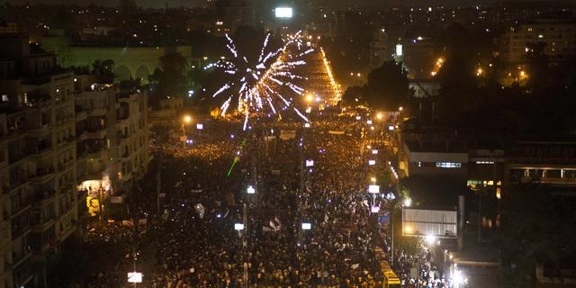 Doden bij rellen Egyptisch massaprotest
