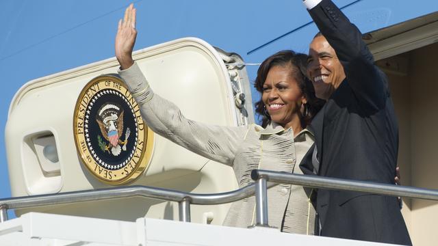 Obama bezoekt cel Mandela op Robbeneiland