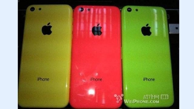 'Nieuwe foto's goedkopere iPhone verschenen'