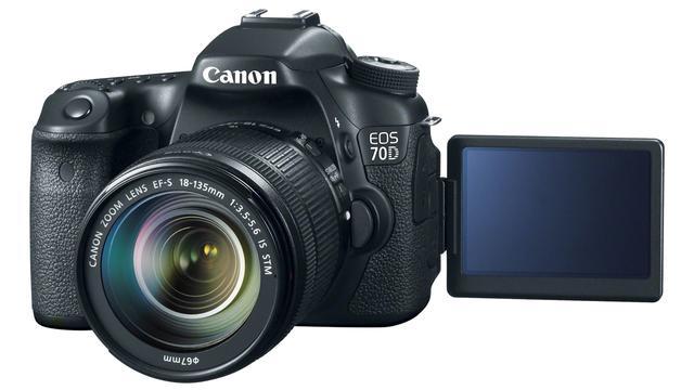 Canon toont spiegelreflexcamera met snelle autofocus