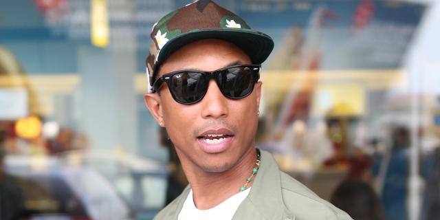 Pharrell Williams voor het eerst bovenaan Britse albumlijst