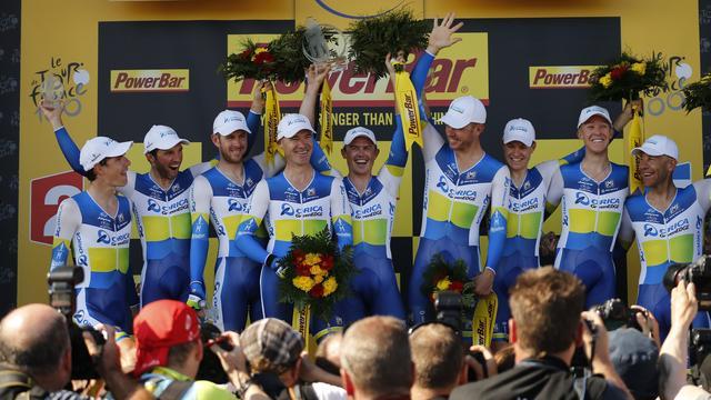 GreenEdge wint ploegentijdrit Tour de France