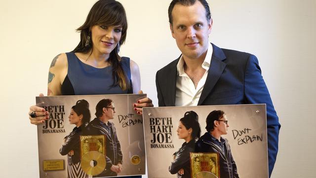 Gouden plaat voor Beth Hart en Joe Bonamassa