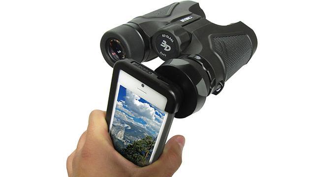 Simpele adapter geeft smartphone verrekijkerzoom