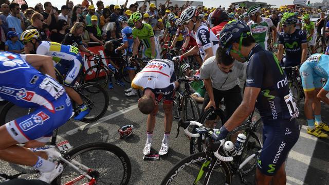 Van den Broeck moet Tour de France verlaten