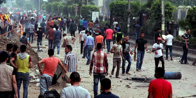 Egyptisch leger dreigt met staatsgreep