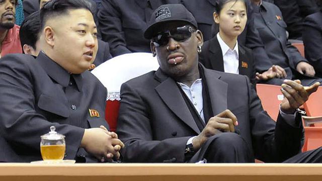Dennis Rodman gaat weer naar Noord-Korea