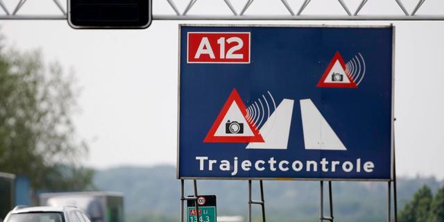 Trajectcontrole A2 richting Amsterdam begint