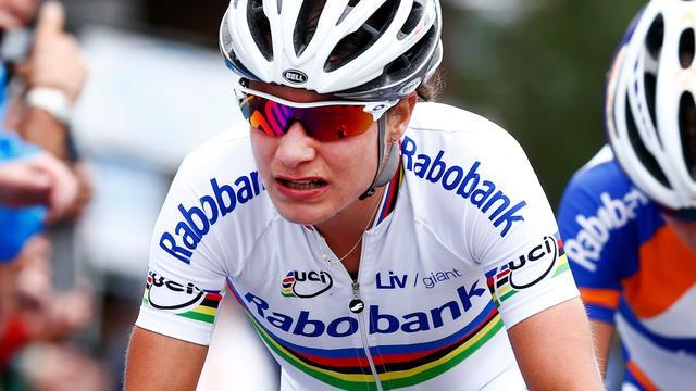 Vos verliest bergop opnieuw tijd in Giro Rosa