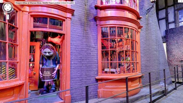 Google zet Harry Potter-beelden op Street View