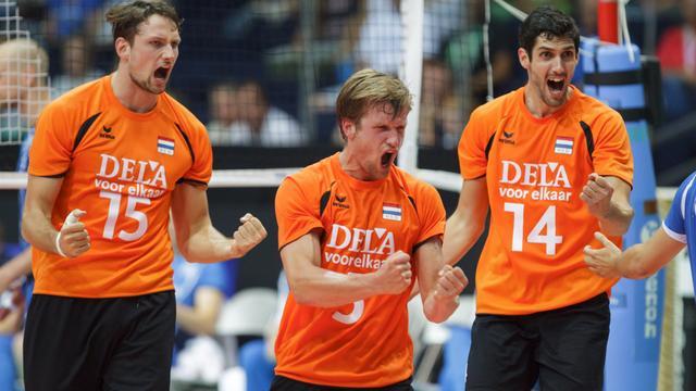 Volleyballers opnieuw te sterk voor Frankrijk