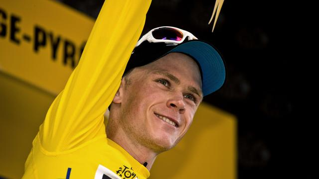 Froome grijpt macht in eerste bergrit Tour