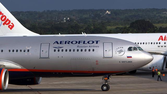 Rusland noemt doorzoeking vliegtuig Aeroflot in Londen 'provocatie'