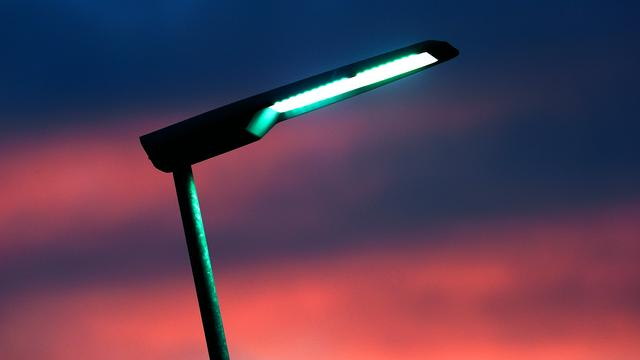 Straten snel over op led-verlichting