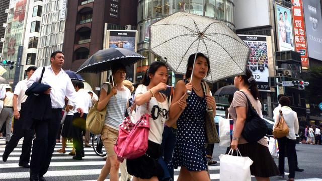 Verlies voor effectenbeurs Tokio