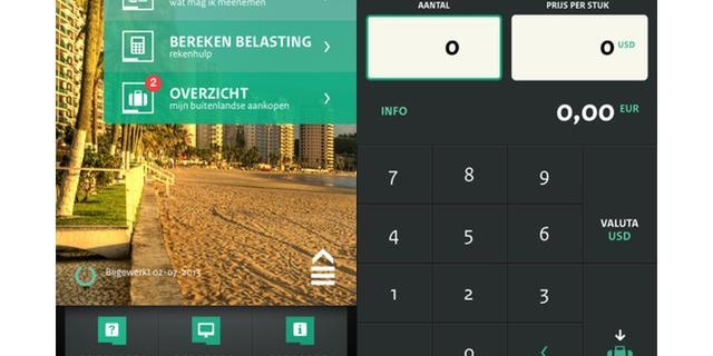 Reis-app Douane heeft nieuw uiterlijk