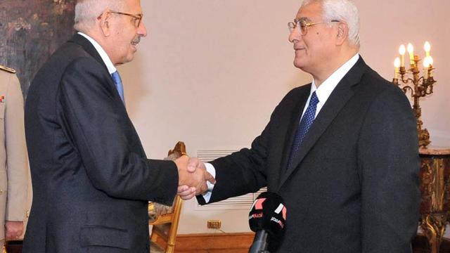 ElBaradei geïnstalleerd als vicepresident Egypte