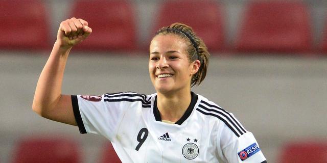 Voetbalsters Duitsland verslaan IJsland