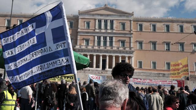 Griekse werkloosheid licht gedaald