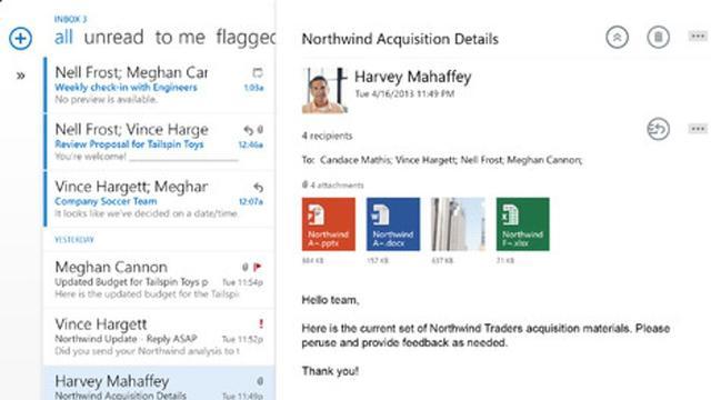 Outlook voor iOS en Android voegt uitgebreid adresboek toe