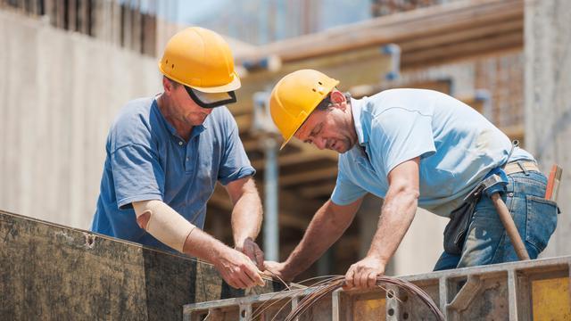 'Aantal faillissementen in bouw stagneert'