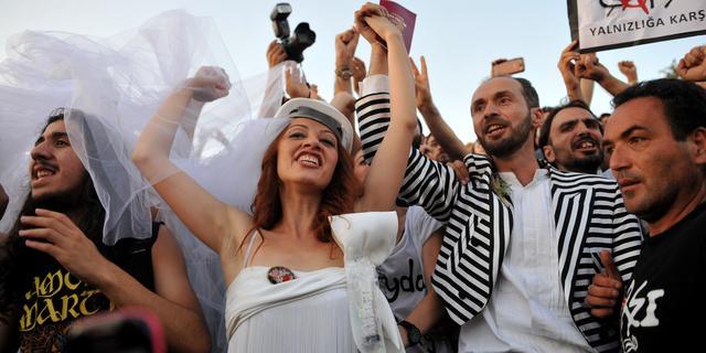 Weer onrust in Turkije