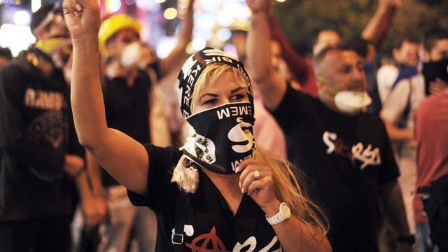 Weer onrustig weekeinde in Istanbul