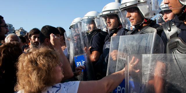 Tientallen aanhoudingen bij protest Istanbul
