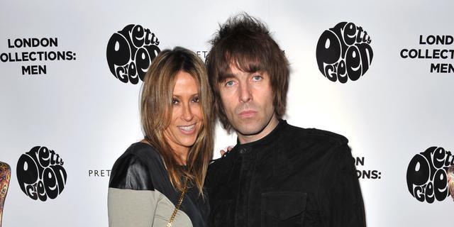 'Liam Gallagher en Nicole Appleton scheiden dinsdag'