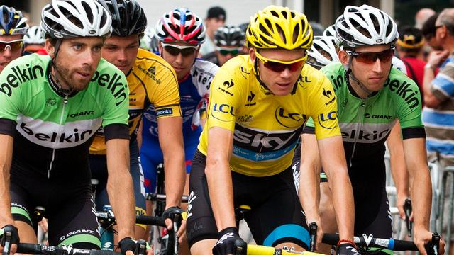 Froome wint profronde van Stiphout