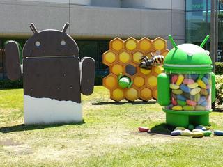 Meerderheid Android voor het eerst op versie 4.1 of hoger