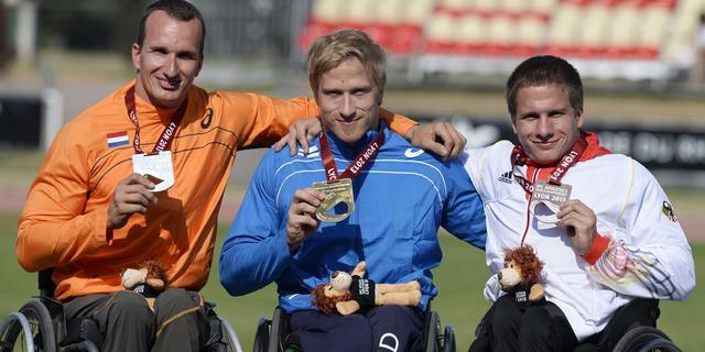 Van Weeghel pakt zilver op 100 meter in Lyon