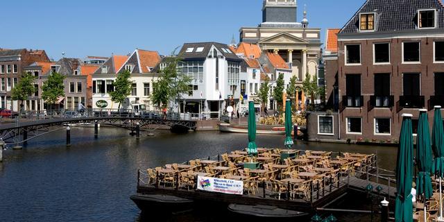 Leiden zonder stroom na ongeluk kabels