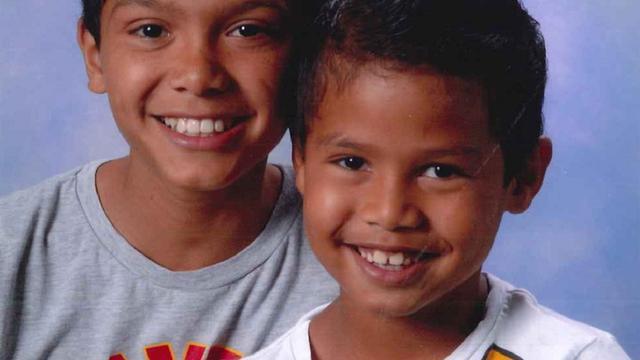 Politie speurt naar vermiste broertjes