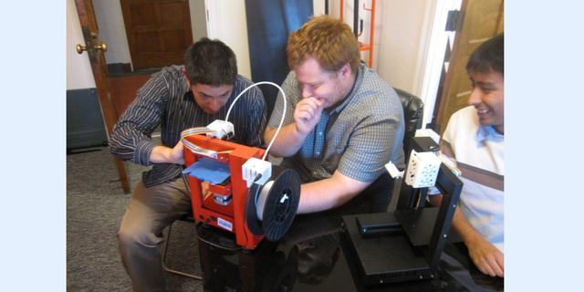 Zo werkt de 3d-printer in ruimtestation ISS
